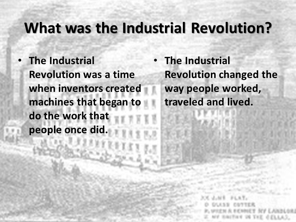 studying the industrial revolution and the technology changes Keep learning what changes did the industrial revolution bring about how is the industrial revolution linked to imperialism what were some forms of entertainment during the industrial revolution.