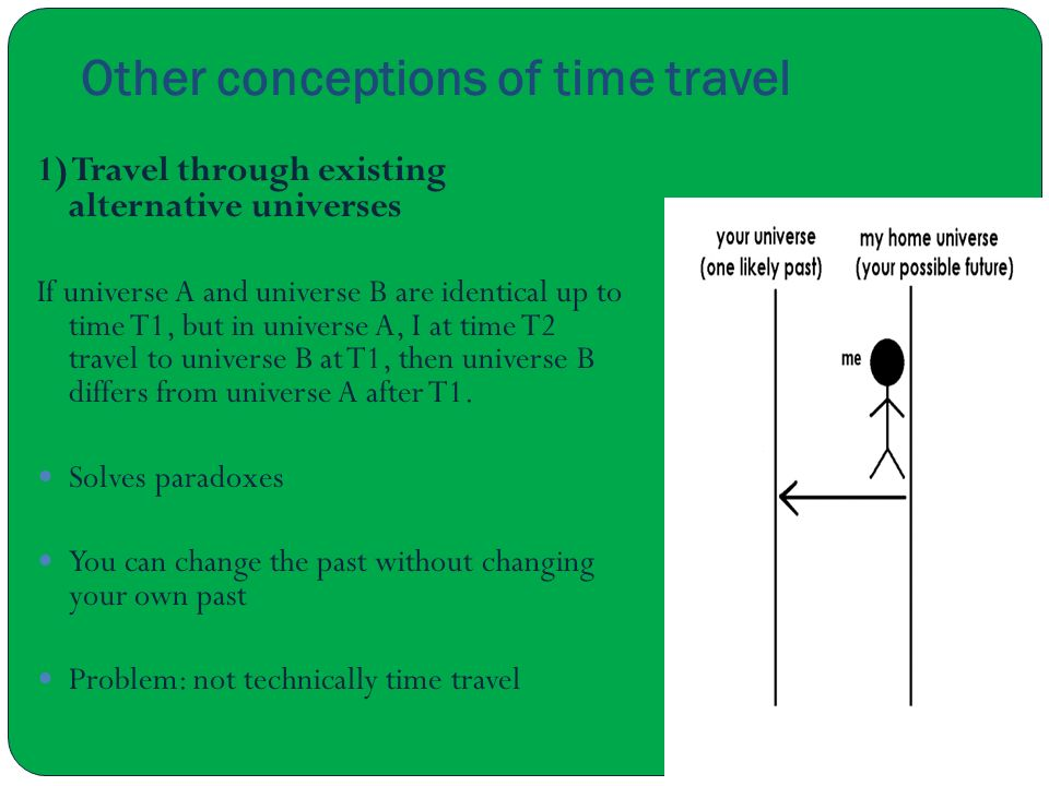 Other conceptions of time travel