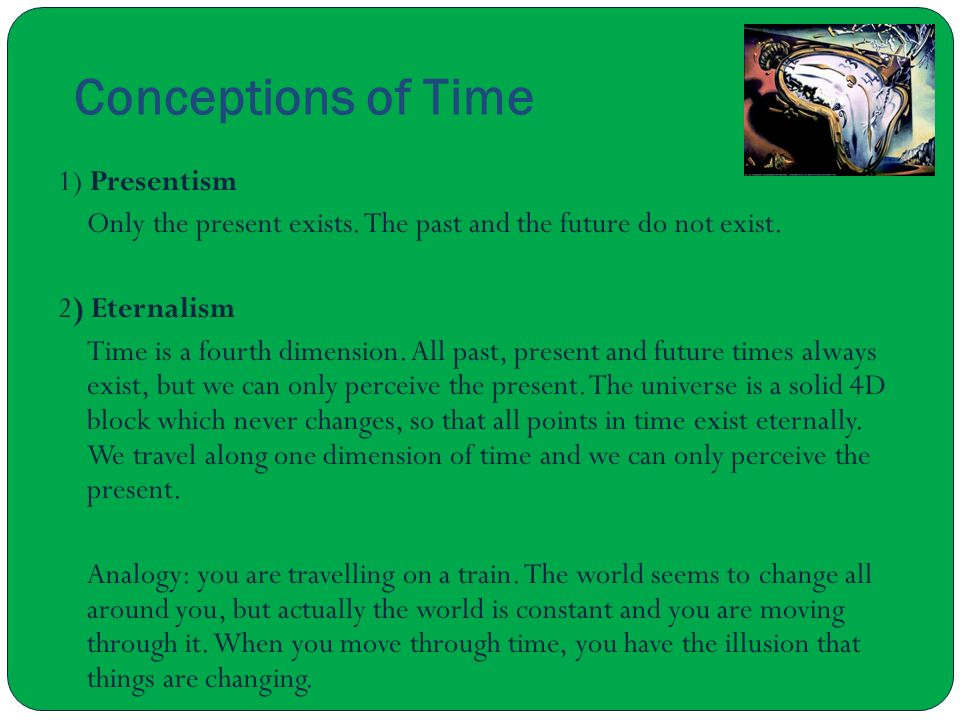 Conceptions of Time