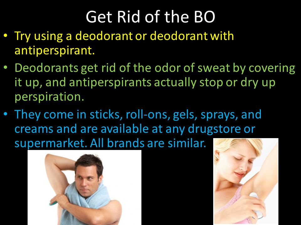 how to get rid of deodorant build up