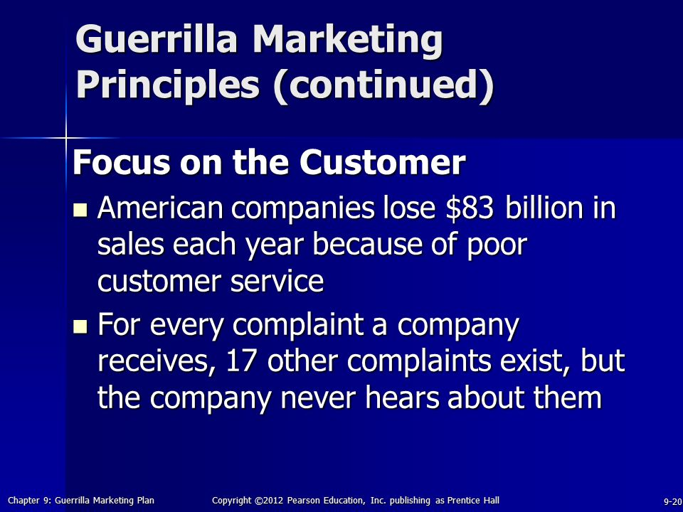 Building A Guerrilla Marketing Plan
