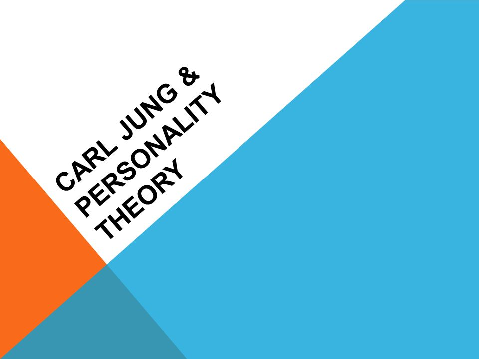 case study on carl jung s theories Study of the case of carl gustav jung:  we present theories about creativity focused in their  case of carl gustav jung / 363.