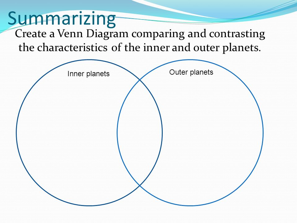 Venn Diagram 2 Planets | Wiring Diagram