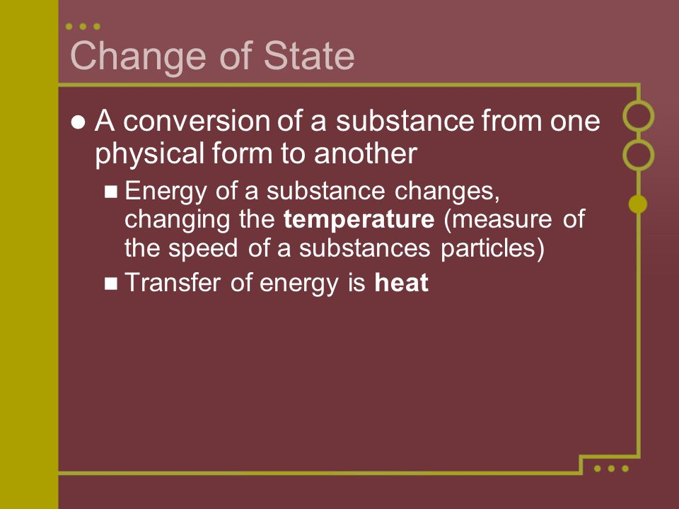 States Of Matter Chapter Ppt Download