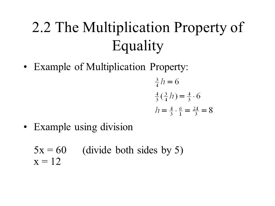 2.1 The Addition Property of Equality - ppt video online ...