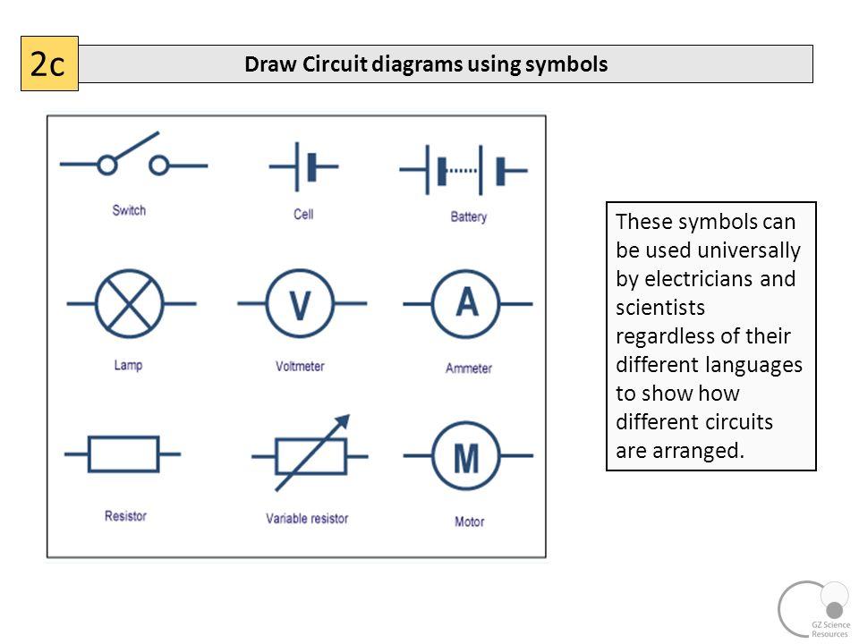 Colorful Scientific Diagram Symbols Collection - Electrical Diagram ...