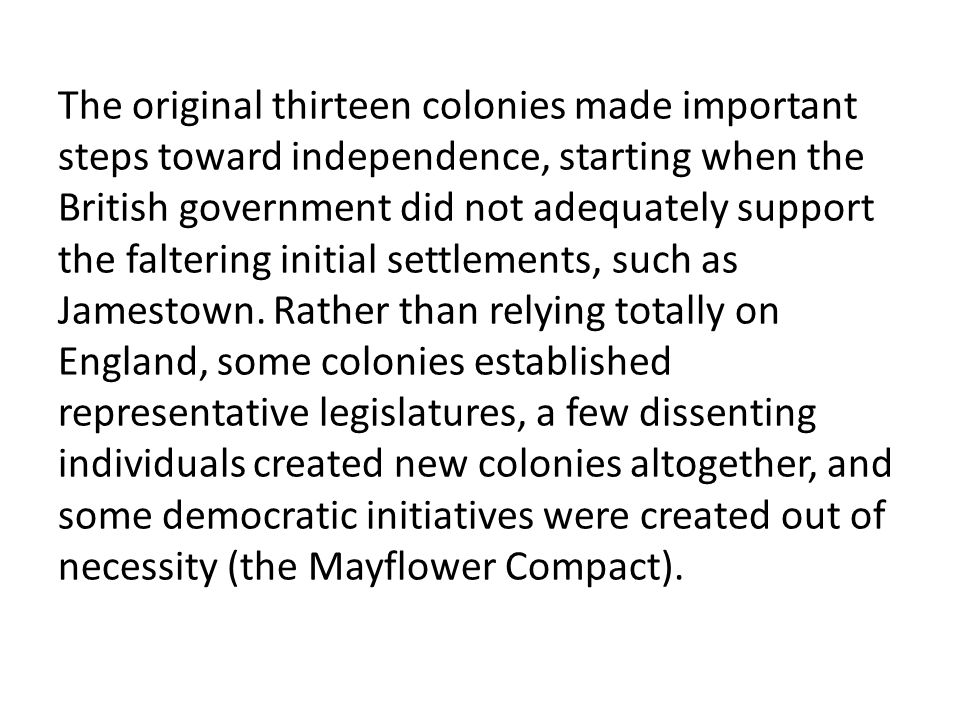 13 colonies essay questions