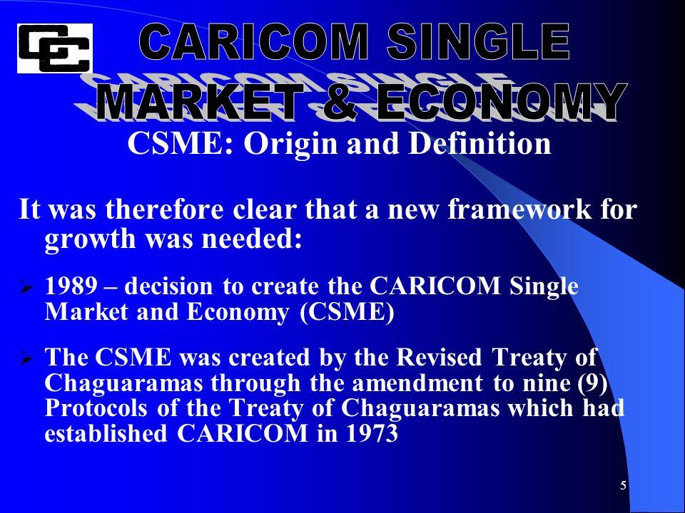 the caricom single market economy