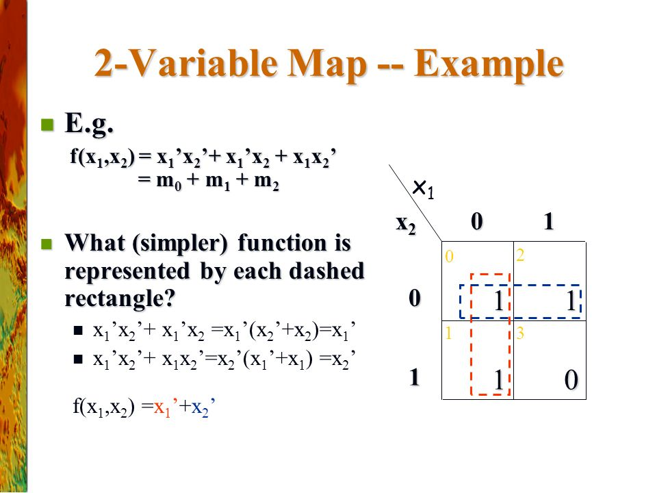2-Variable Map -- Example