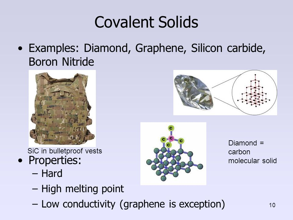 Covalent Solids Chapter 4 Nanomaterial...
