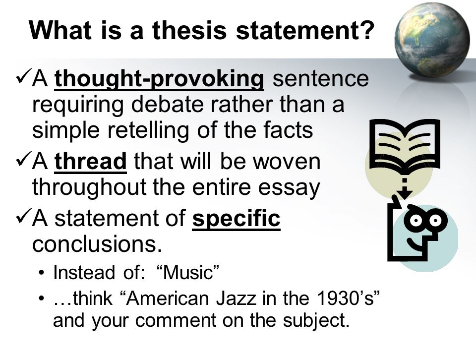 thesis music essay