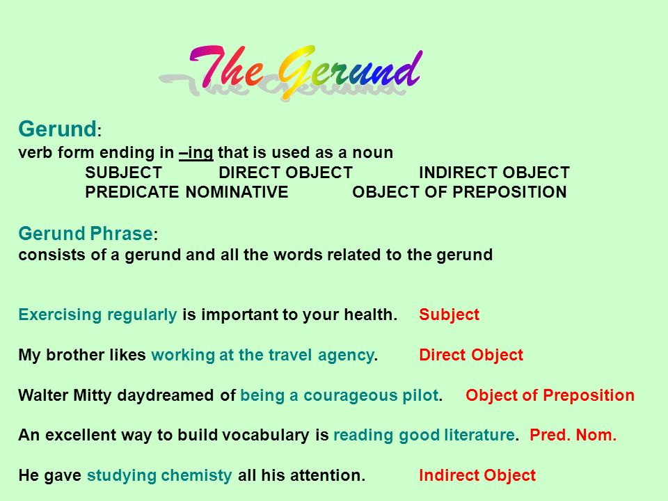 Phrases OBJECTIVES Ide...
