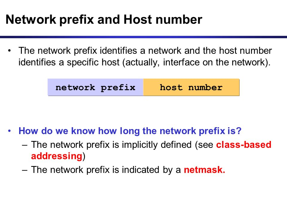 how to find host number