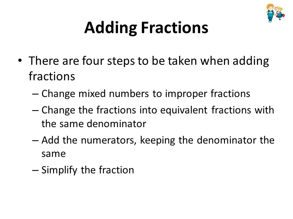 Fractions ppt video online download 12 adding fractions ccuart Gallery