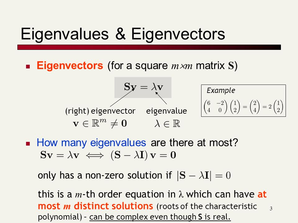how to find how many eigenvalues a matrix has