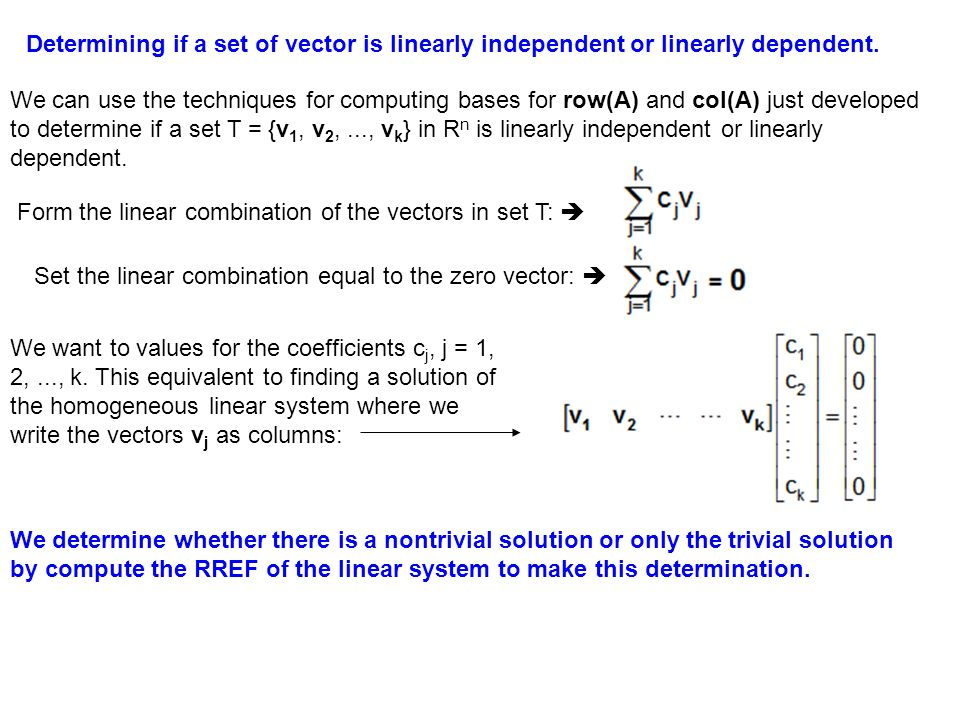 Section 2.3 Properties of Solution Sets - ppt video online download