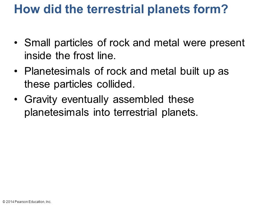 Formation of the Solar System - ppt video online download