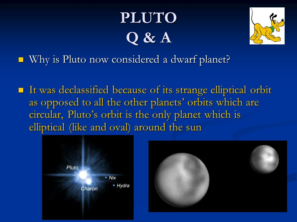 The Planets Of Our Solar System Ppt Download