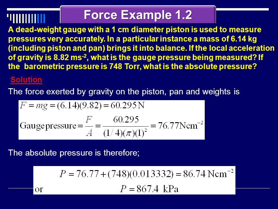 Force Example 1.2