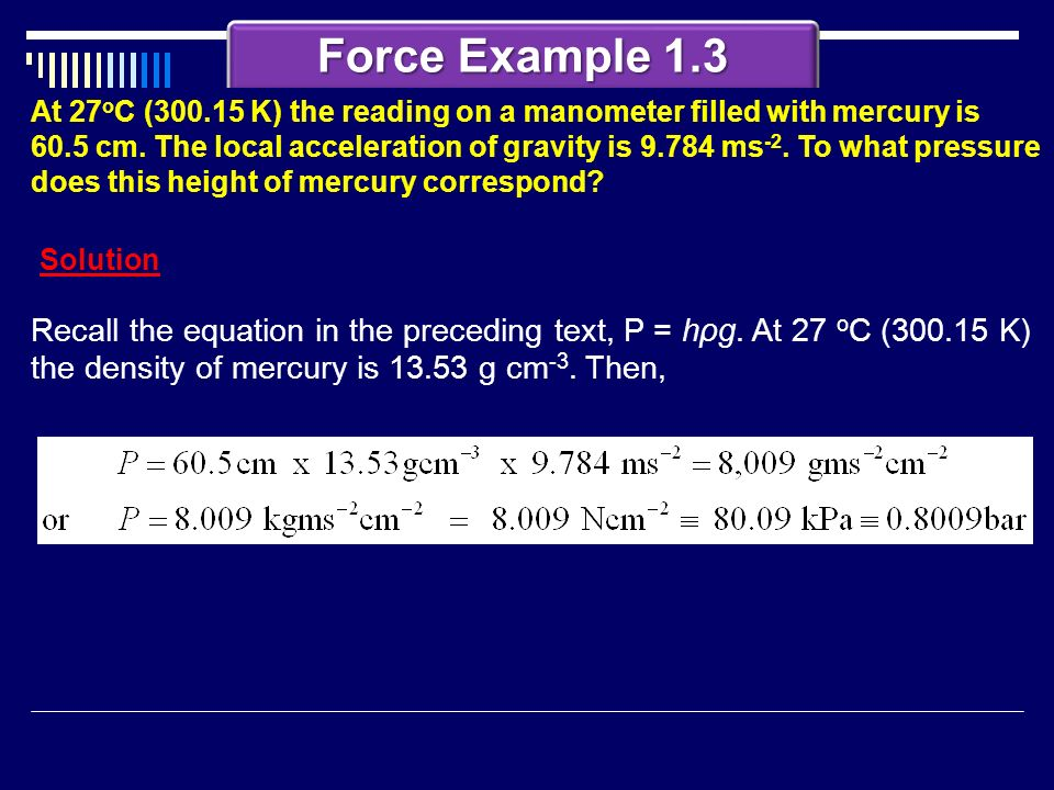 Force Example 1.3