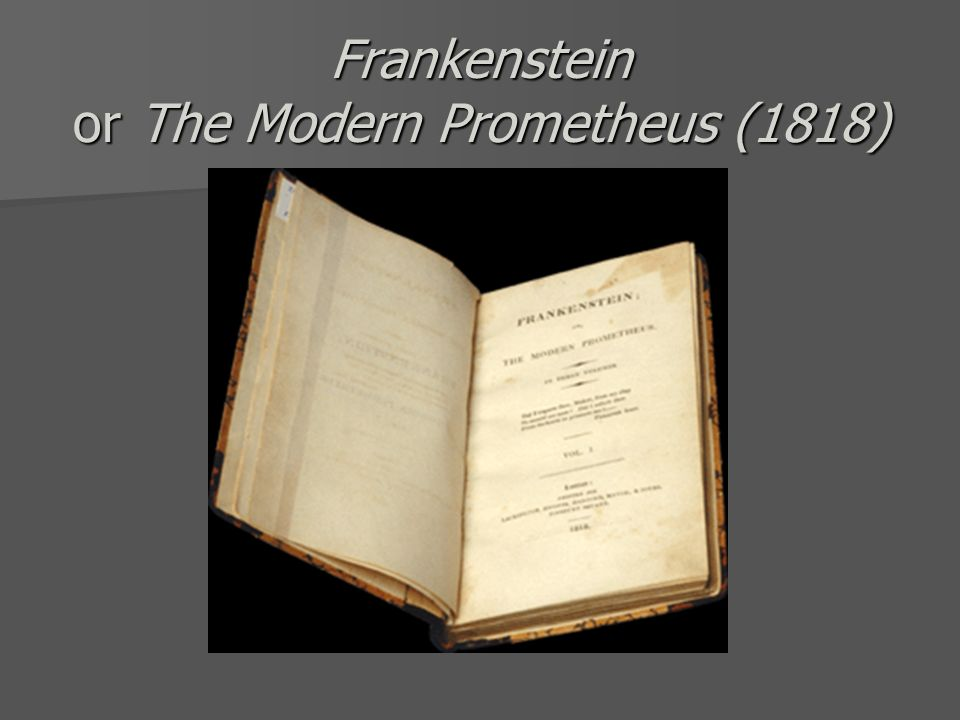 is victor frankenstein the modern prometheus The paperback of the frankenstein: or the modern prometheus by mary shelley at barnes & noble frankenstein, or the modern prometheus victor frankenstein.