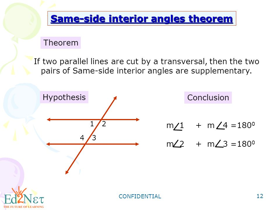 Geometry Angles Formed By Parallel Lines And Transversals