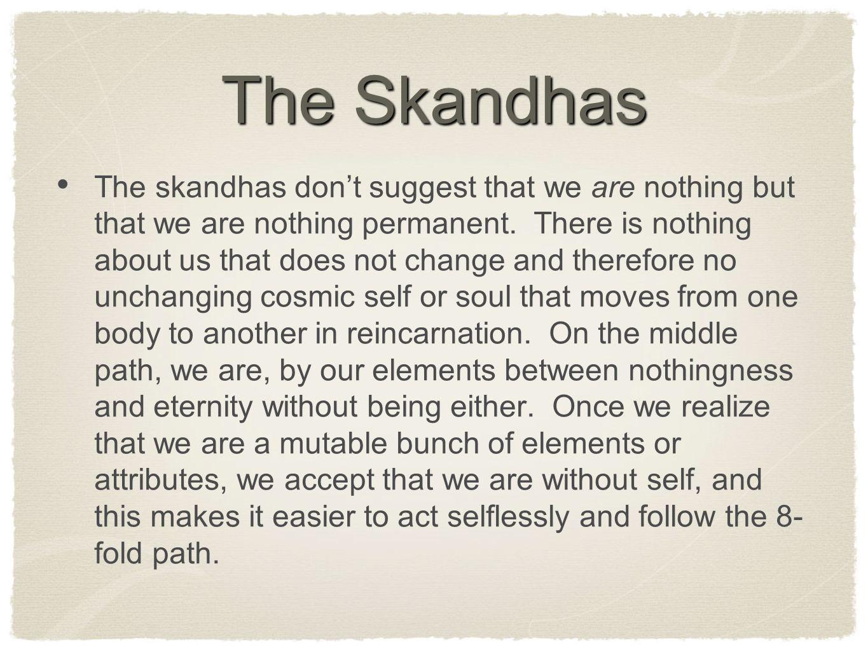 The Skandhas