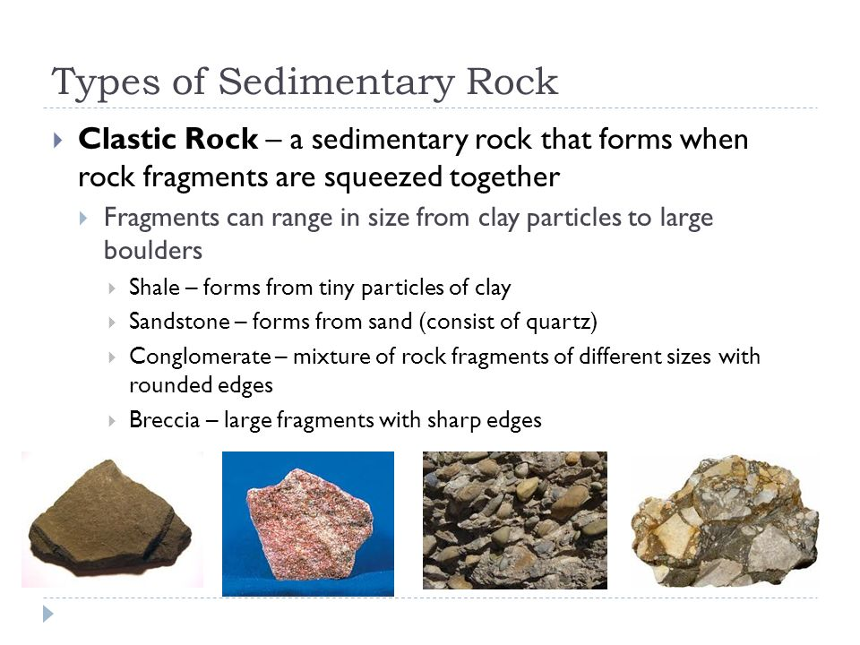 Section 3: Sedimentary Rocks - ppt video online download