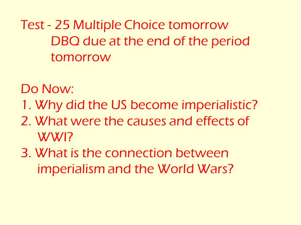 new imperialism causes dbq essay Dbq 9: imperialism in africa document-based question • part b—essay evaluate the new imperialism of the late nineteenth and early twentieth centuries in.