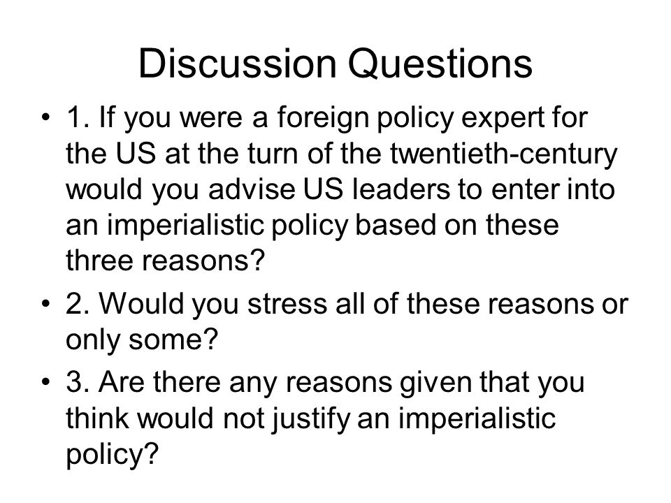 why did the us become an Why did the united states become involved in the philippines' affairs to help establish a democracy in preparation for independence to fight the - 286537.