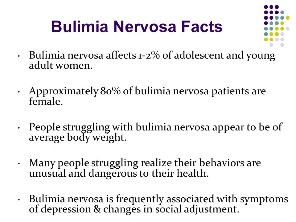 disorders that affect mostly women anorexia and bulimia Many eating disorder professionals believe statistics showing that eating  but  the women keeping them were mostly young, thin, popular, and white  biased  view that eating disorders only affect white women, relatively little.