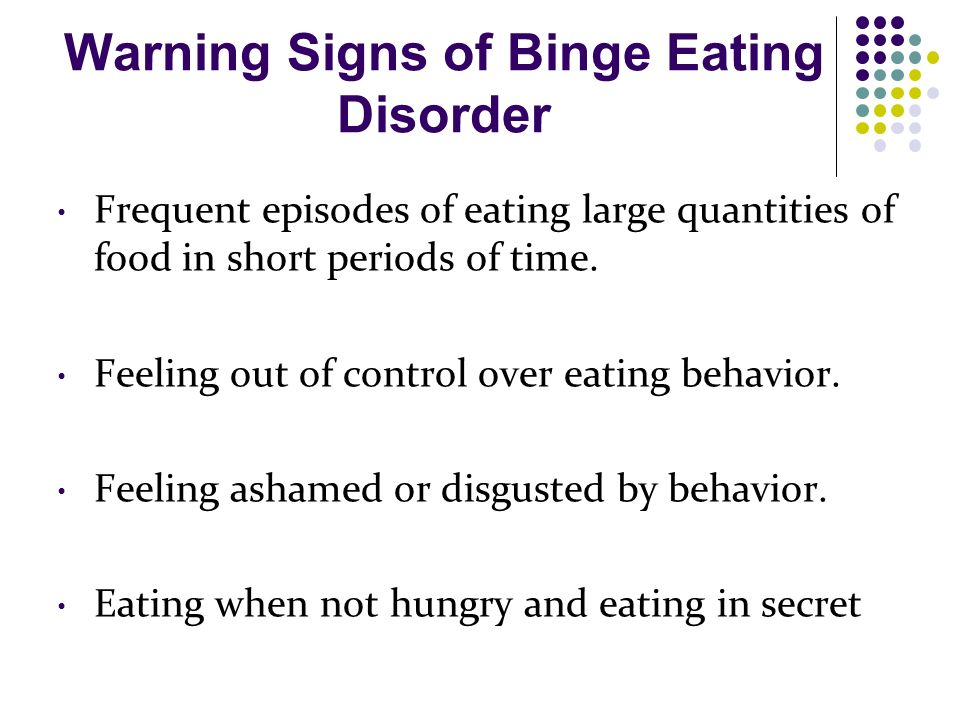 the signs and symptoms of eating disorders Check out early signs & symptoms or physical traits that an eating disorder exists fairwinds treatment center provides highly effective bulimia nervosa treatment in florida.