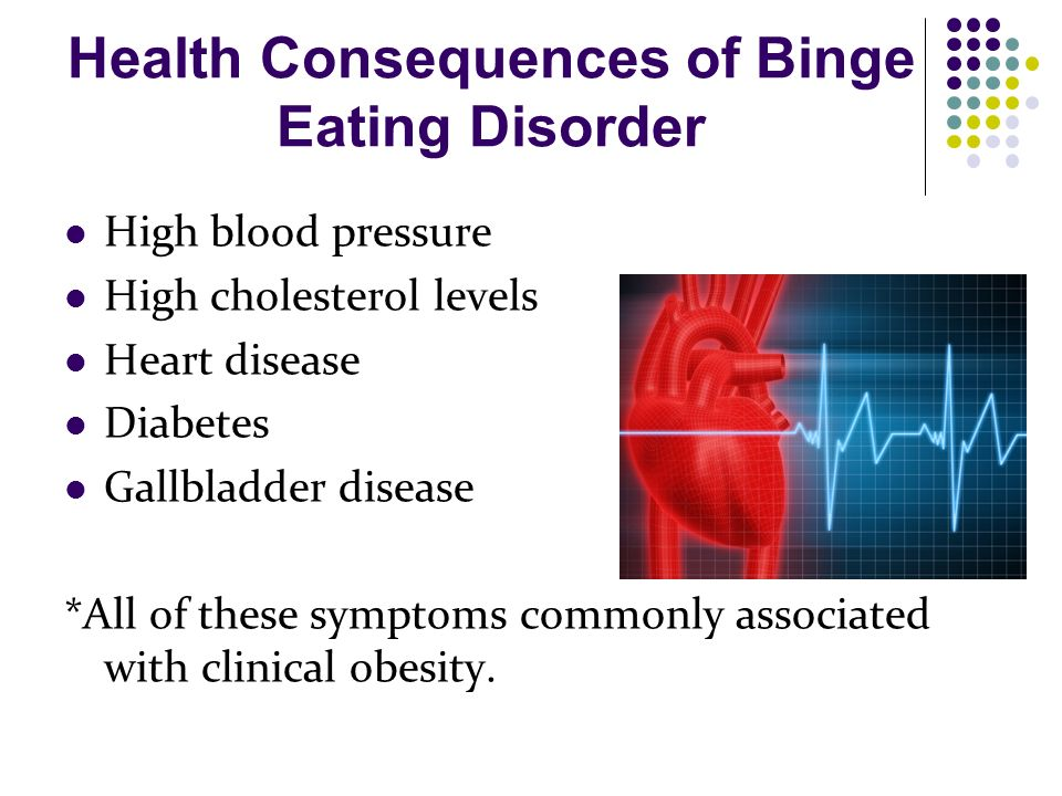 health issues obesity defined eating disorder associated serious health concern Binge eating disorder (bed) and obesity have common characteristics, but are not necessarily related bed is an eating disorder that typically starts common eating disorders include anorexia, bulimia, and binge eating disorder these are diagnosable mental health disorders that affect a.