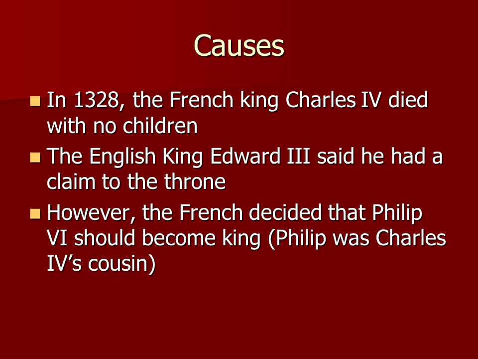 The Hundred Years War Ppt Video Online Download