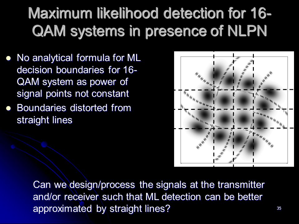 maximum likelihood detector Maximum likelihood detection in spatial multiplexing with fbmc rzakaria, dle ruyet and mbellanger cnam, 292 rue saint-martin 75141, paris cedex 03.