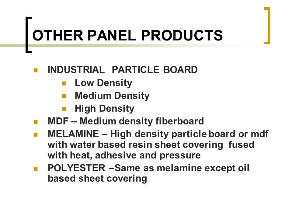 Medium Density Particleboard ~ Hardwood lumber ppt video online download