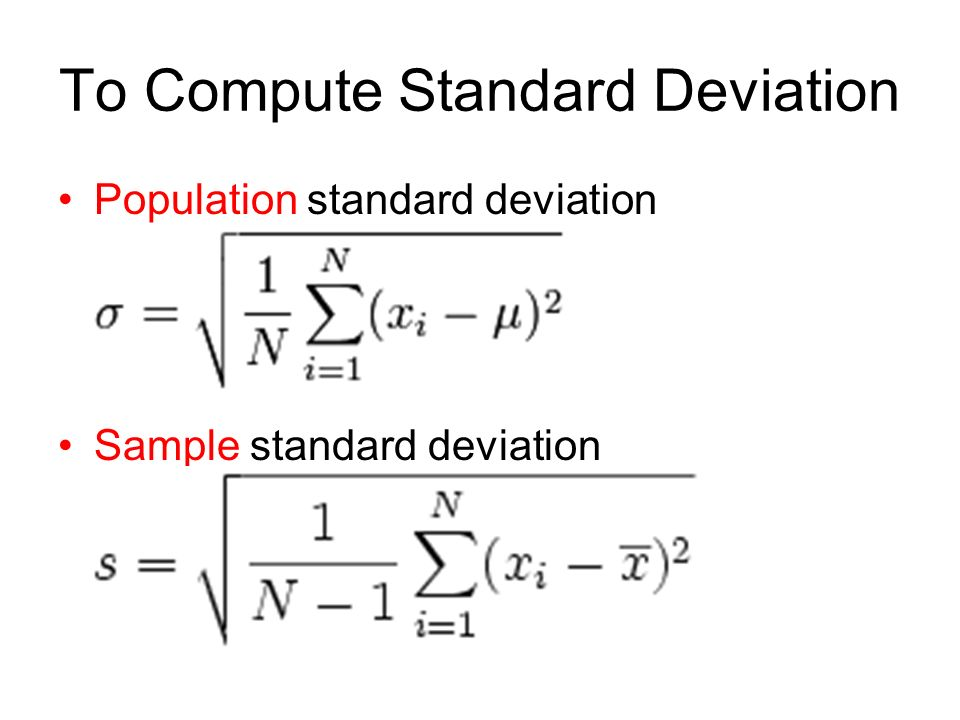 The Population vs. The Sample - ppt download