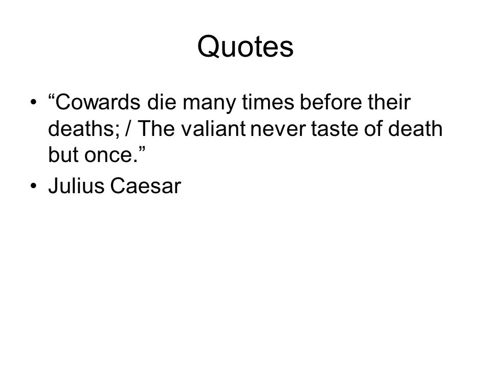 julius caesar shows that people respond