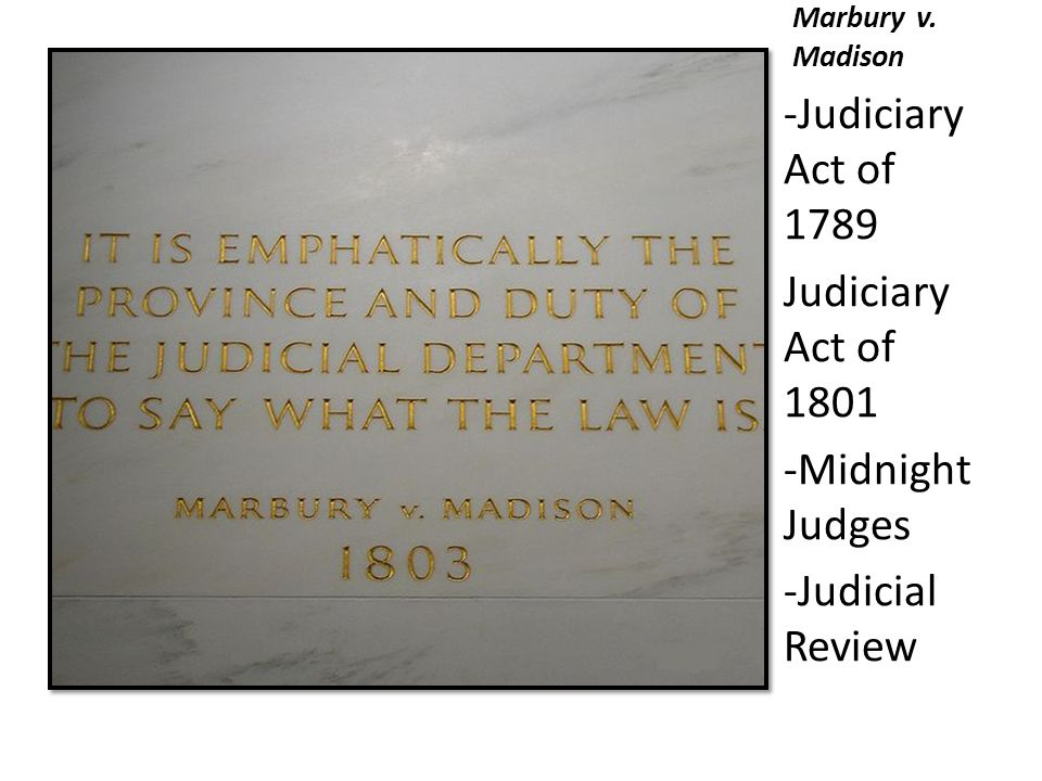 judiciary act of 1801 This feature is not available right now please try again later.