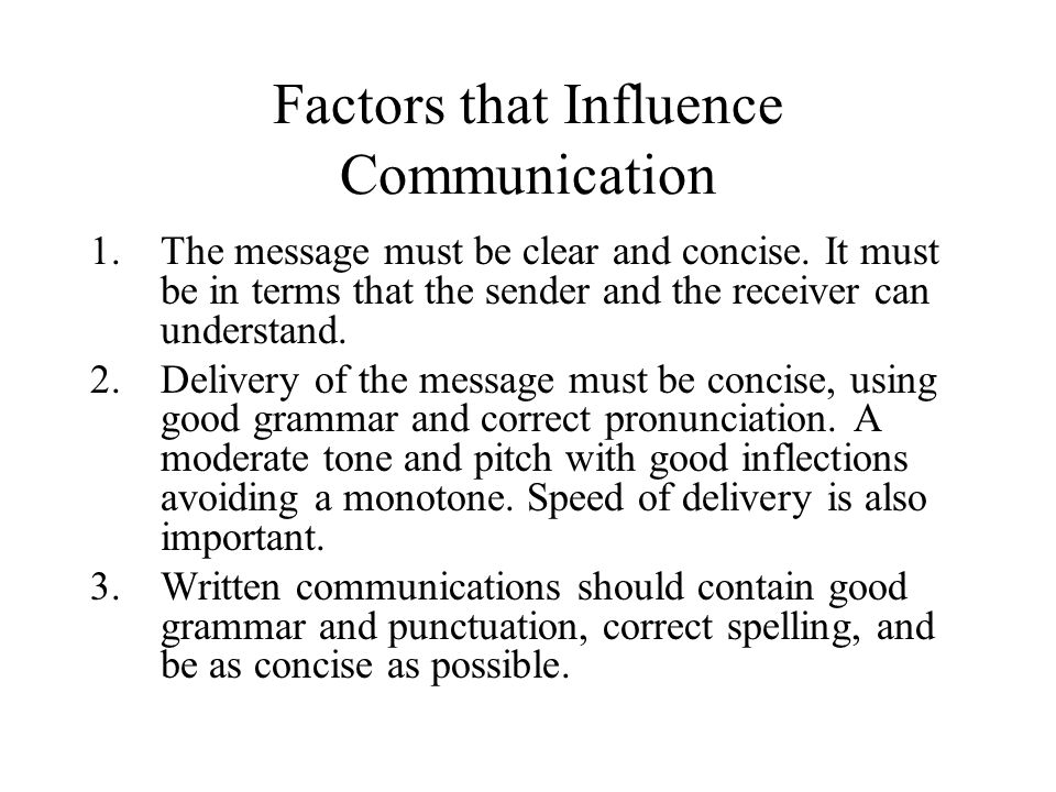 factors that influence the communication and This study was conducted in delta state to determine the influence of extension  agents' and farmers' communication factors on effectiveness of production.