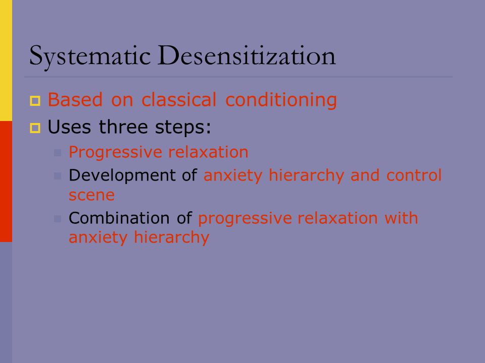 systematic desensitisation Psychology definition for systematic desensitization in normal everyday language, edited by psychologists, professors and leading students help us get better.