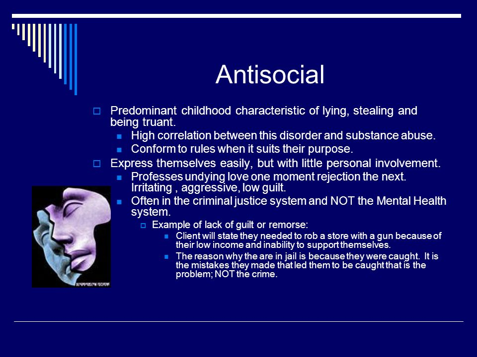 relationship between antisocial personality disorder and substance abuse
