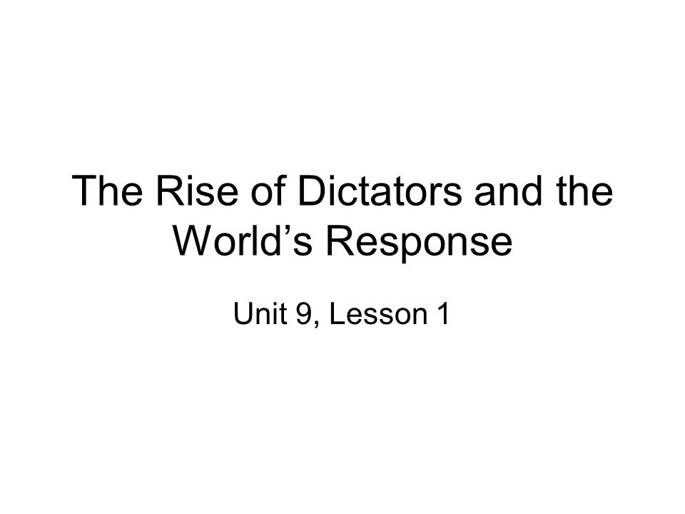 the rise of dictators 1930s A&global&depression&in&the&1930s& totalitarian&leaders&are&dictators&who&control&all&  rise_of_totalitarian_dictators (1)ppt.