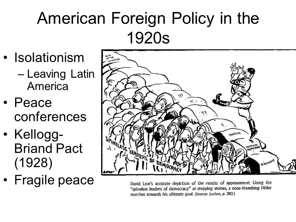 How did World War 2 affect American foreign policy?