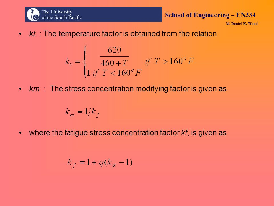 kt : The temperature factor is obtained from the relation