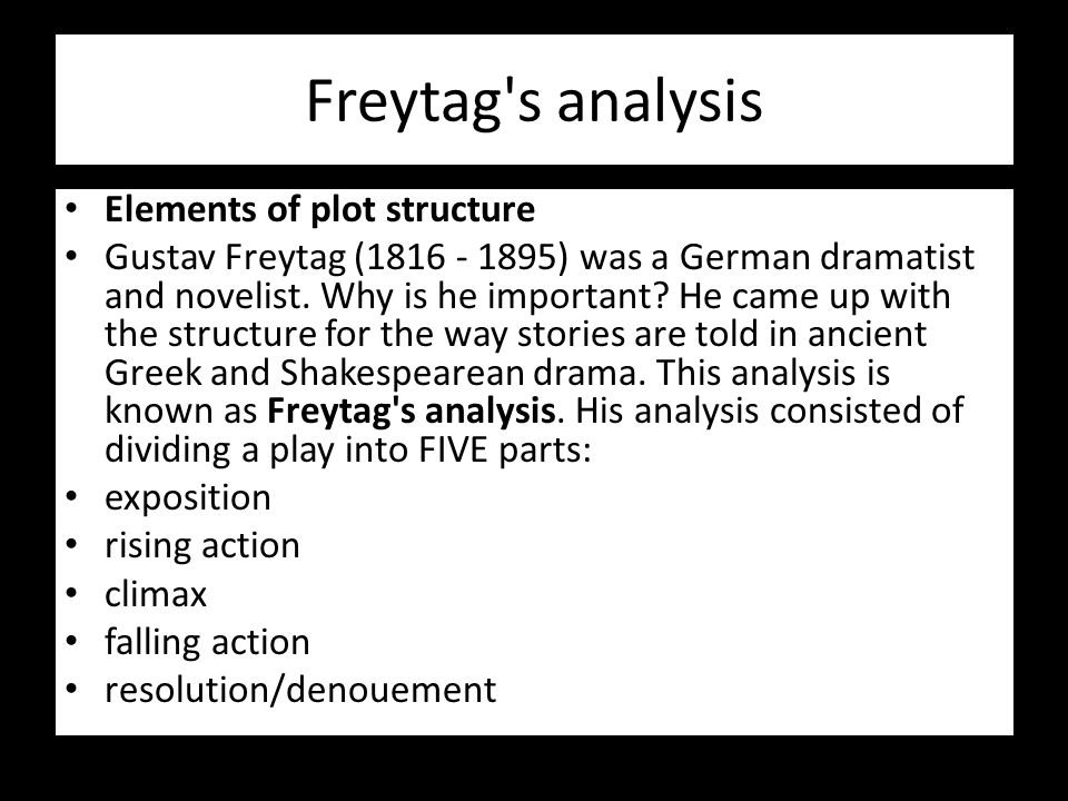 an analysis of drama Drama analysis this pack contains: 1 2 3 4 definitions for analyzing drama an example of a drama for you to read an example of how to complete a drama analysis.