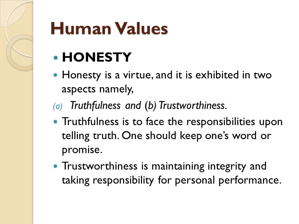 understanding the virtues of honesty Terms 'critical thinking', 'moral integrity', and 'citizenship' richard paul virtues: intellectual for critical thinking, moral integrity, and.