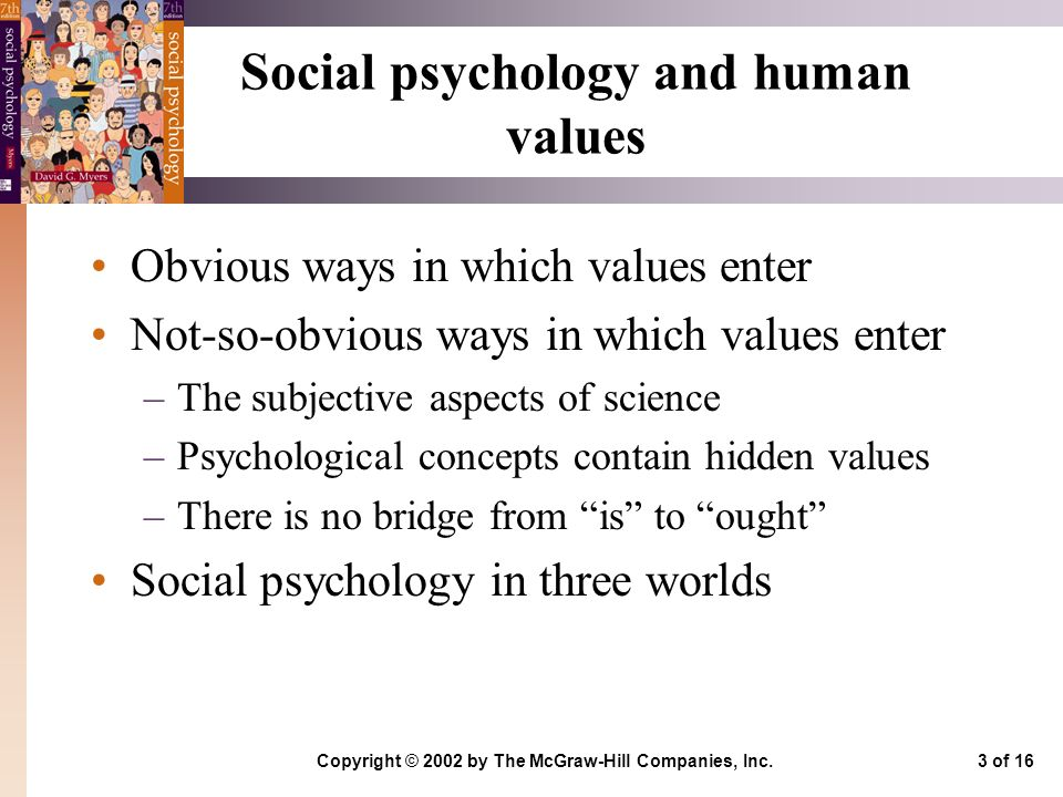 social psychology Social psychology social psychology is the study of the cognitive and social processes that underlie individuals' perceptions of, influence over, and interactions with other people.
