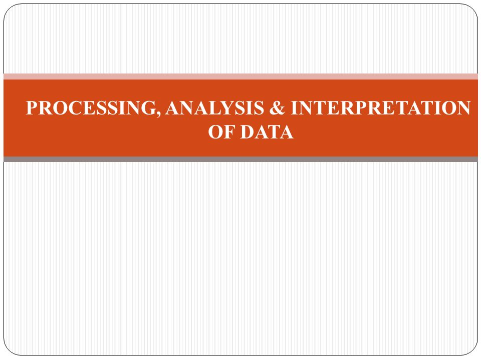 data processing and analysis Core bk connect applications and options for data processing and signal analysis.