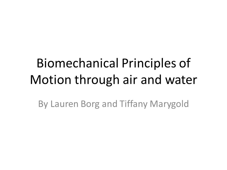 biomechanical principles A teacher could use this to educate their students on what biomechanical principles entail and examples of them through badminton eg how the centre of mass and.